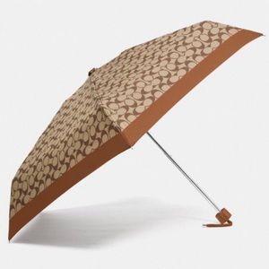 COACH Signature Mini Umbrella